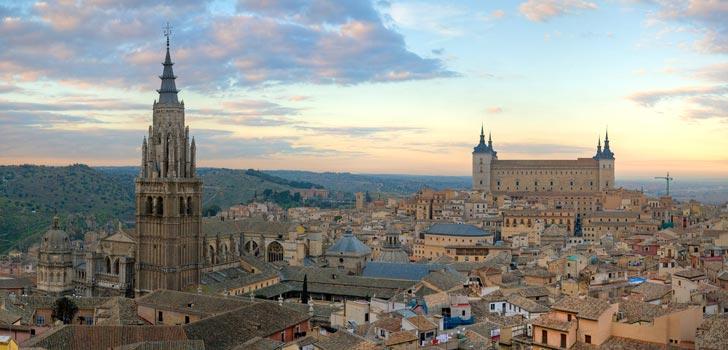Alojarse en el centro de Toledo