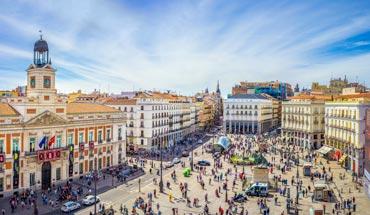 Alojarse cerca de Puerta del Sol en Madrid