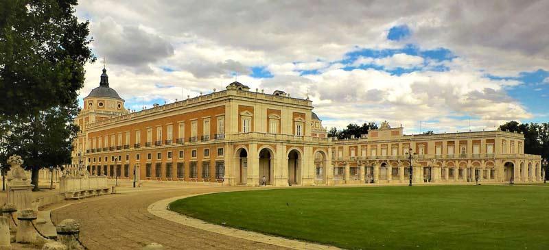 Palacio Real en la Villa de Aranjuez