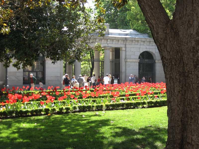 Entrada al Real Jardín Botánico