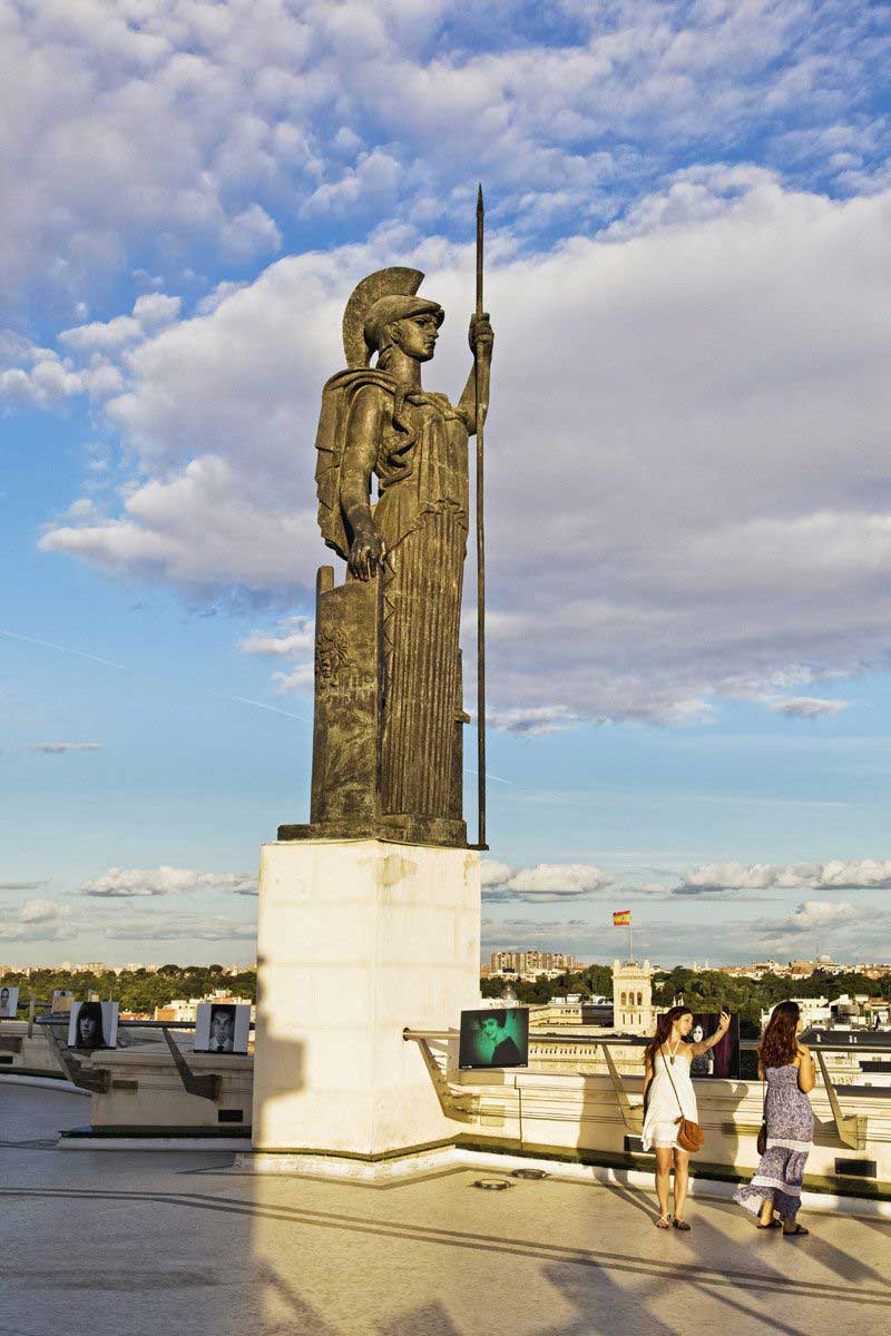 escultura de Minerva