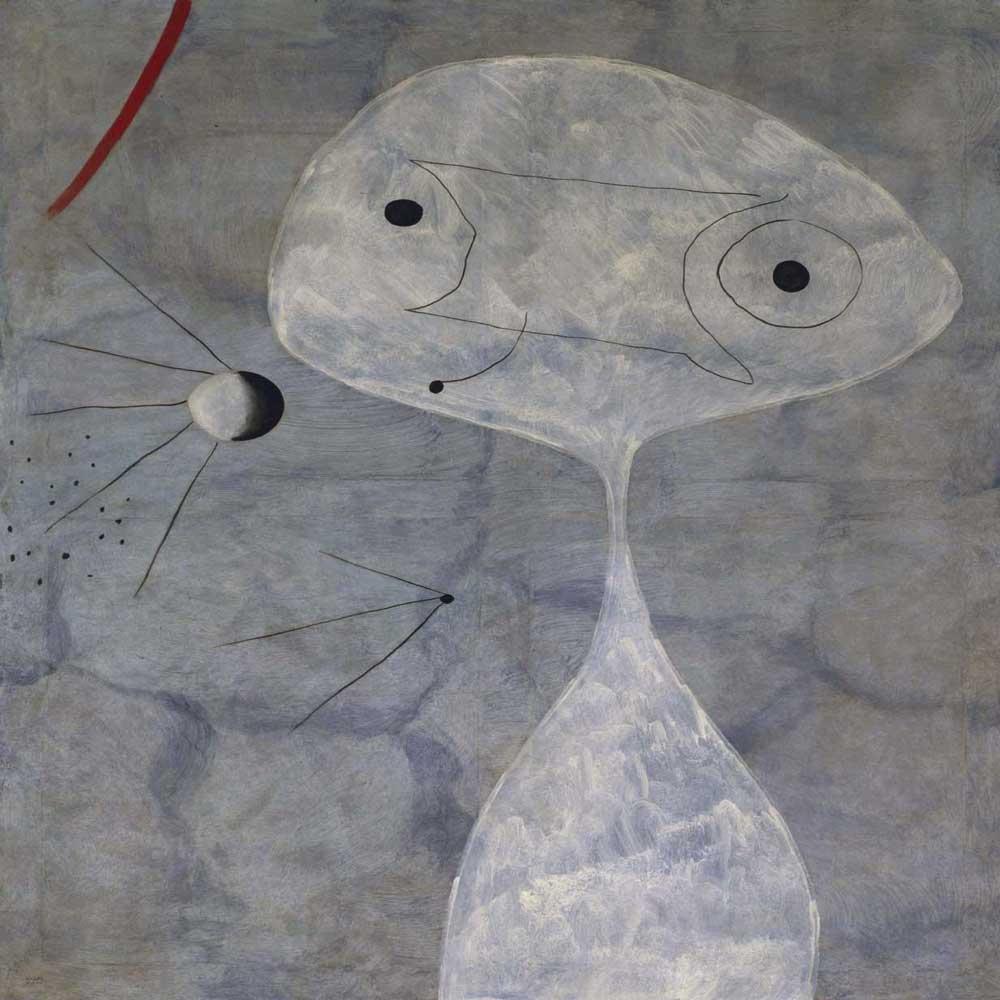 Hombre con pipa de Joan Mirò