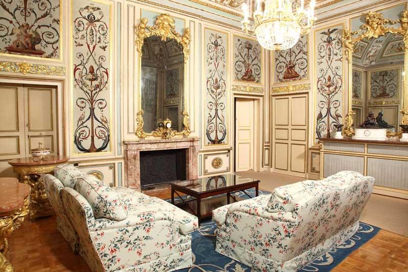 Interior Palacio Real El Pardo