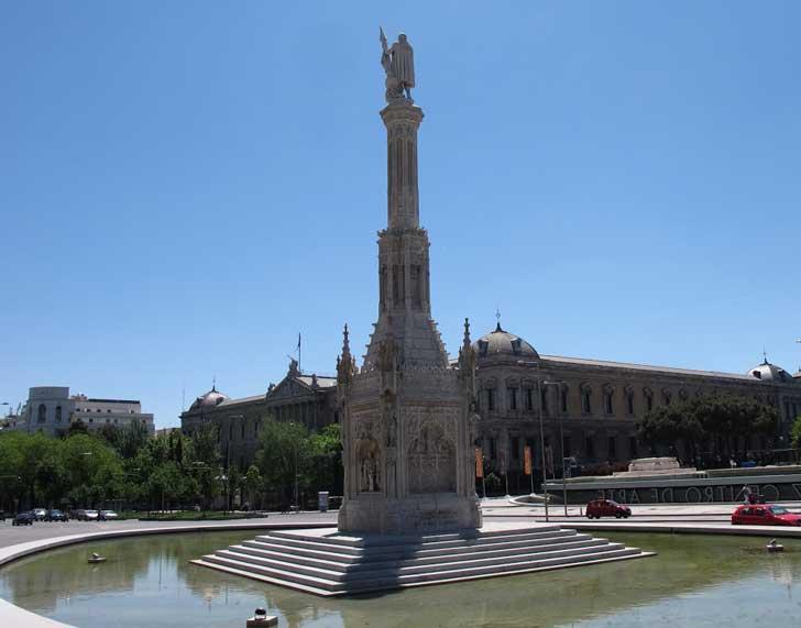 monumento a colón madrid