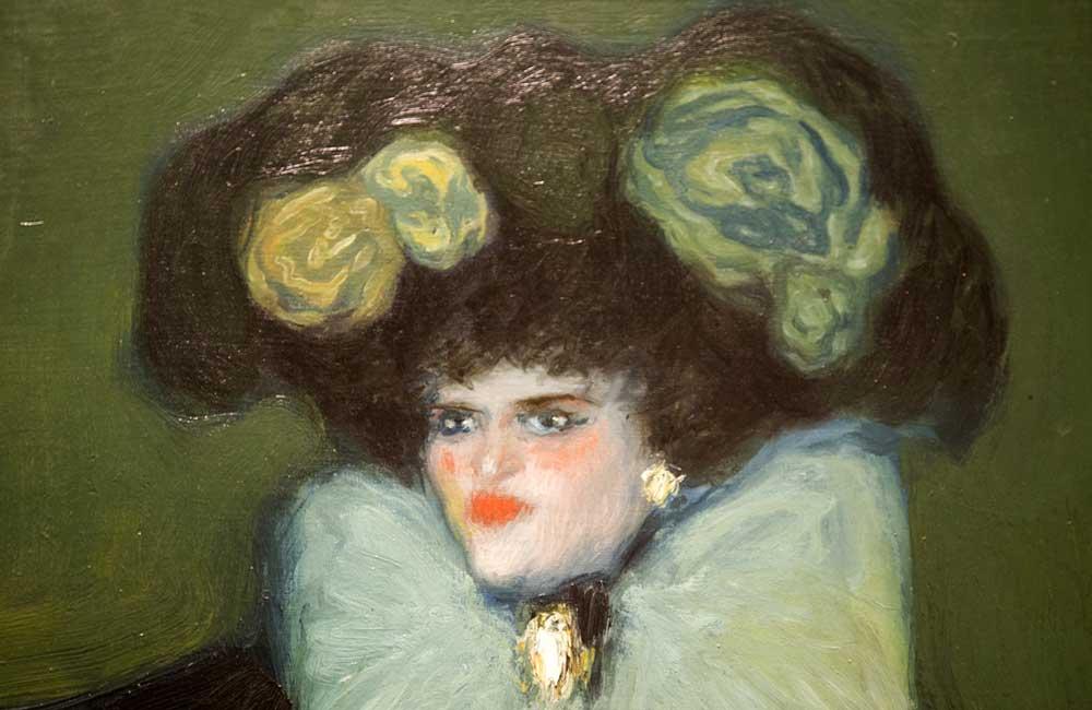 Mujer de azul de Picasso