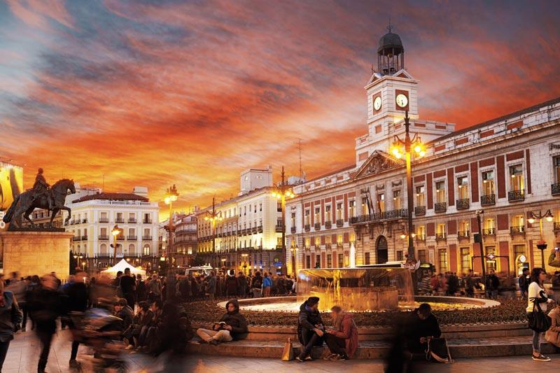 La plaza más famosa de Madrid