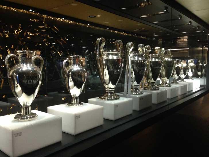 La sala de los trofeos