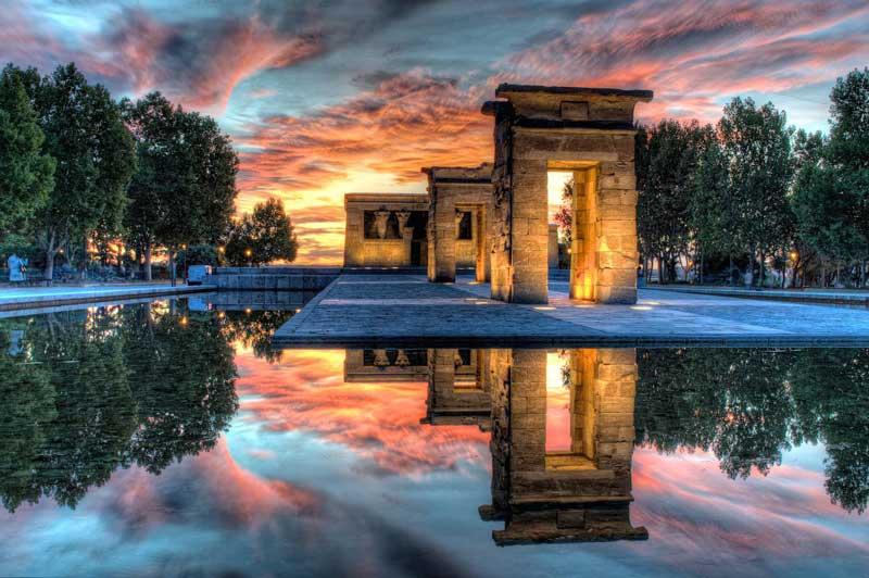 Templo de Debod, Un regalo de Egipto a España.