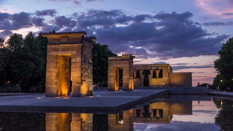 Templo de Debod de Madrid, Un regalo de Egipto a España.