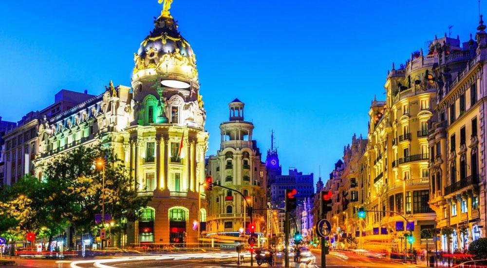 Foto Gran Via, Madrid, España